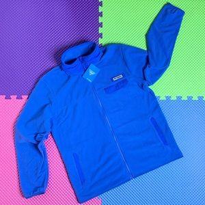 Columbia PFG Full Zip Fleece Blue L